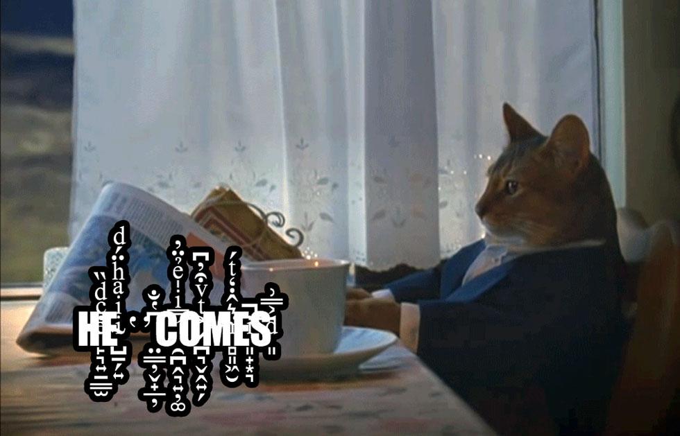 he-comes