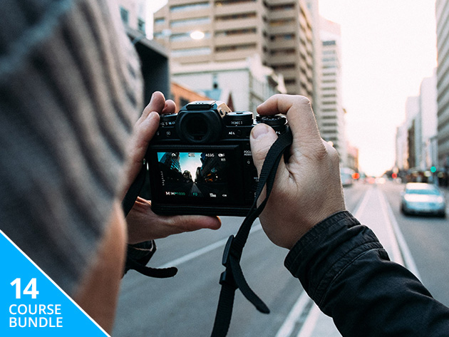 Frame, snap, edit: take your camera skills from basic to pro with this bundle from Adobe KnowHow