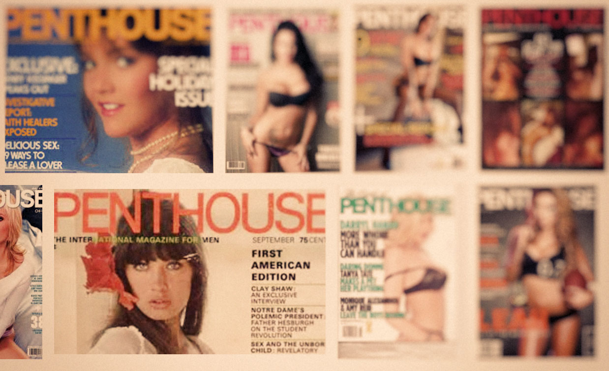 Penthouse magazine no longer to be printed