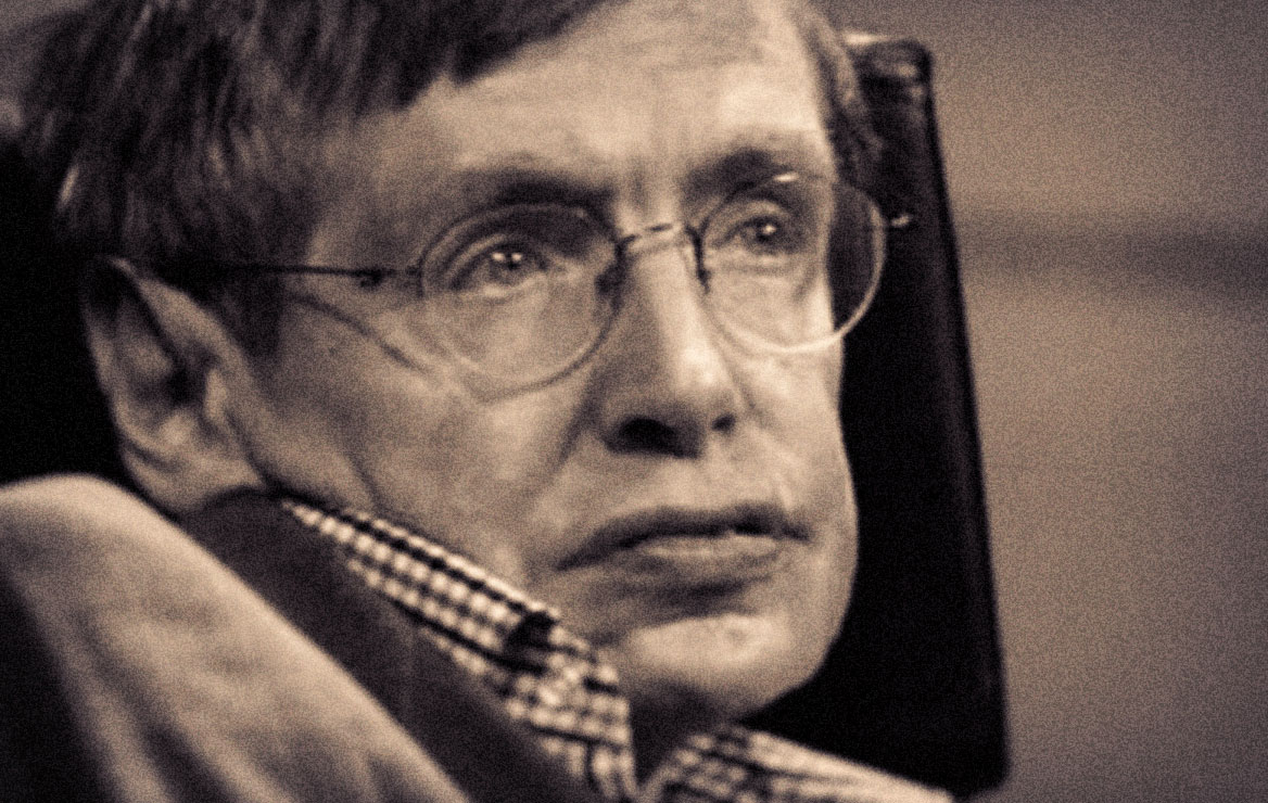 IMG STEPHEN HAWKING, British Theoretical Physicist