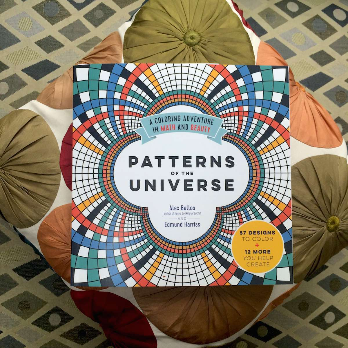 Patterns Of The Universe A Coloring Adventure In Math And Beauty