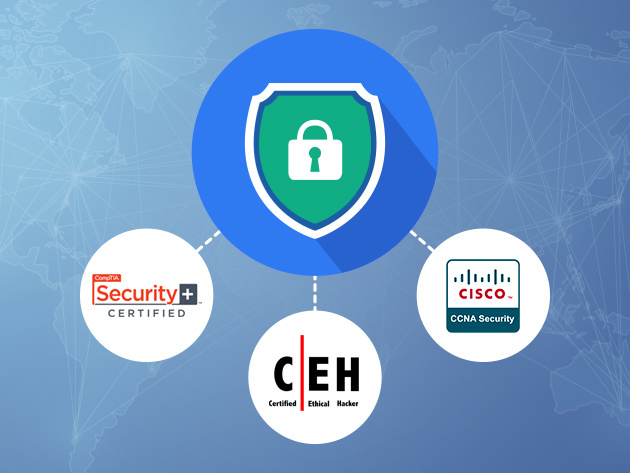 Become a security triple threat with this IT Security and Ethical Hacking Certification Training: now 98% off