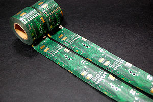 Printed circuit board masking tape