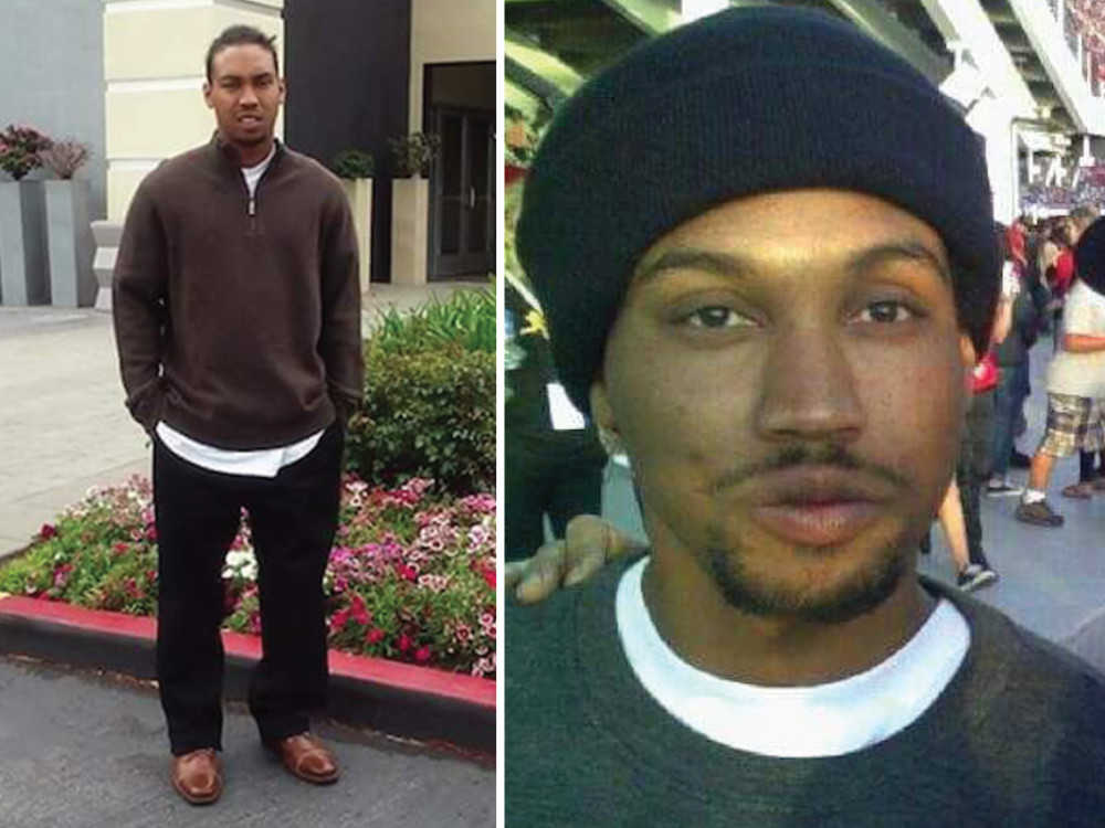 Mario Woods, shot to death by SFPD officers in Dec., 2015.