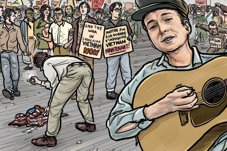 Bob Dylan by Ethan Persoff and Scott Marshall