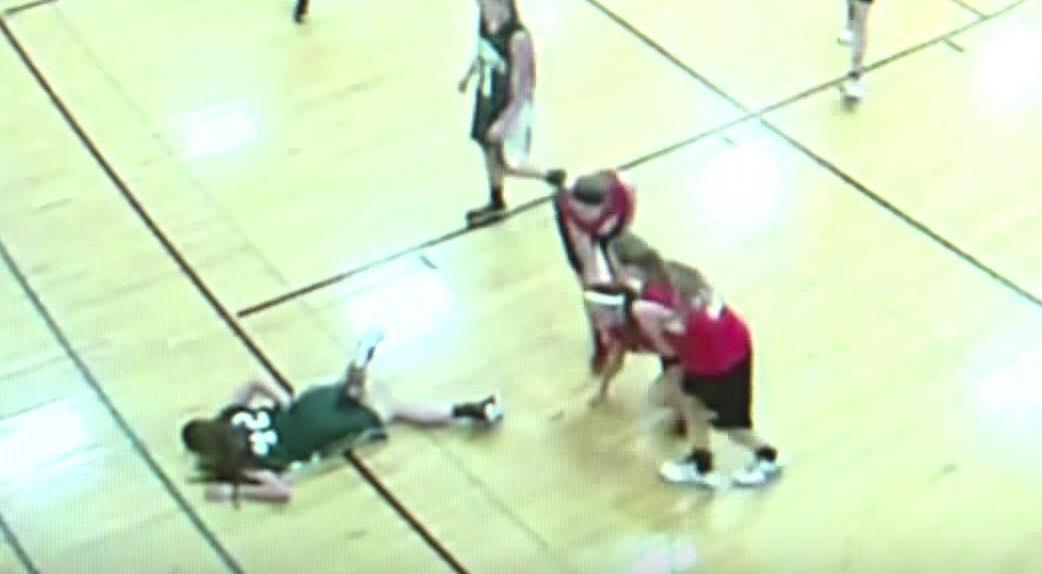 Teen basketballer impaled by floorboard during court slide ...