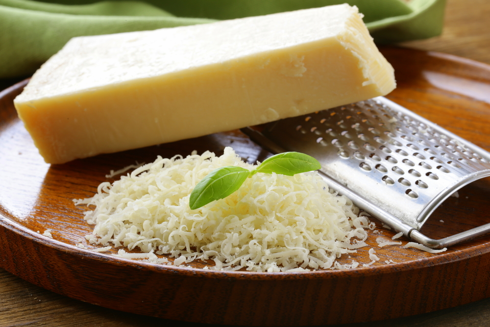 This Parmesan Cheese is not fake as you can tell by the pixels