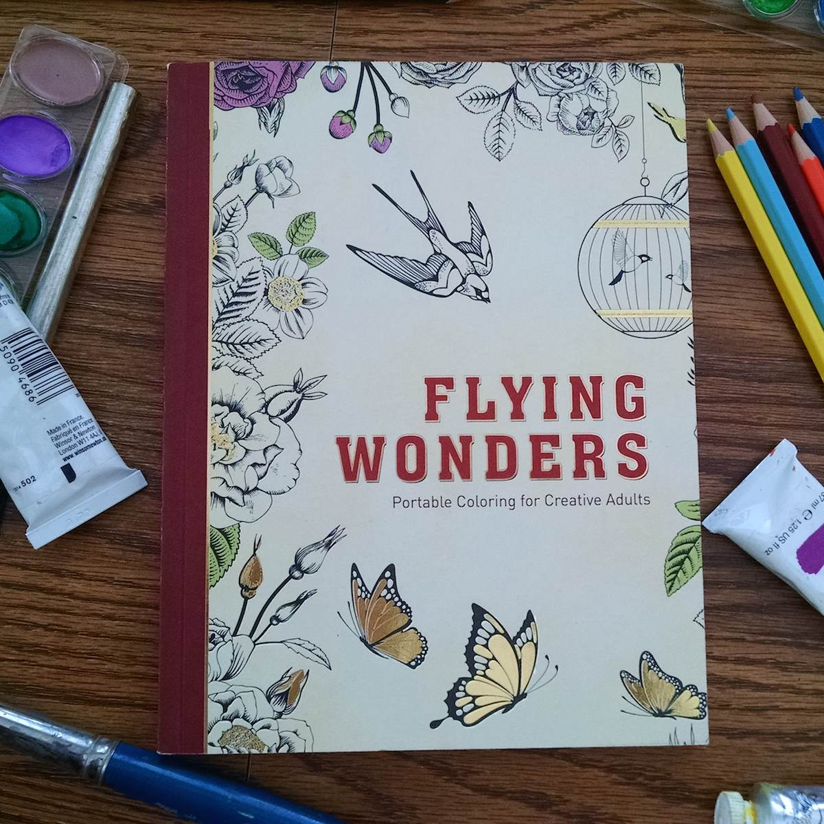 Flying Wonders Portable Coloring For Creative Adults