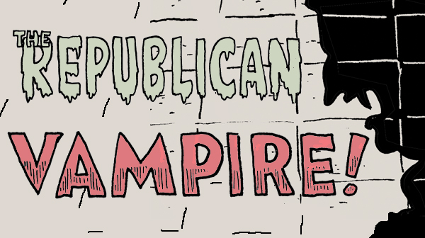 Tom the Dancing Bug 1281 cruz republican vampire