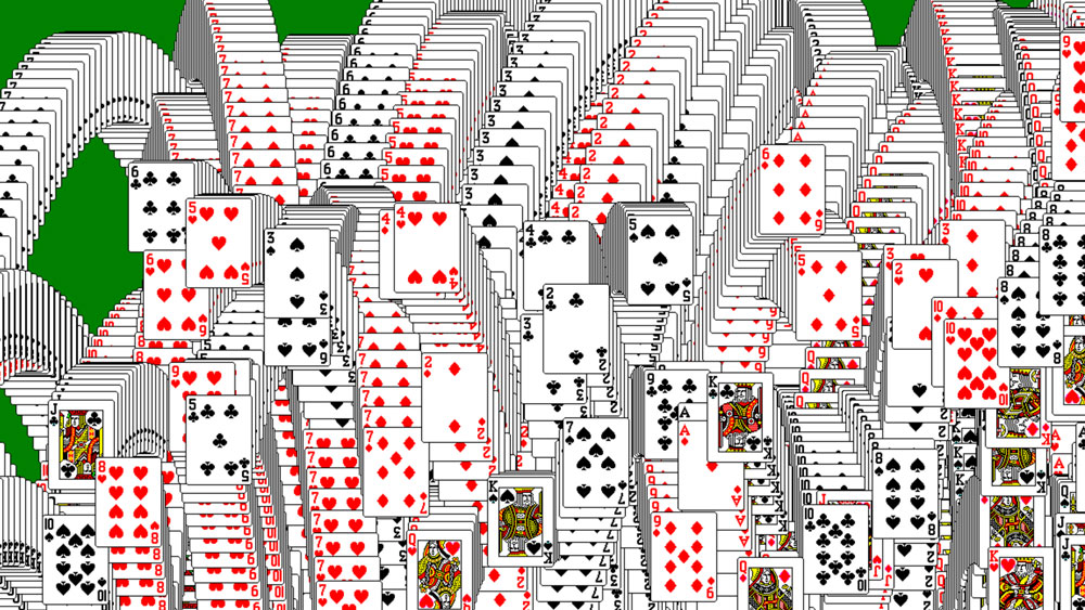 trigger windows solitaire victory animations with a single click