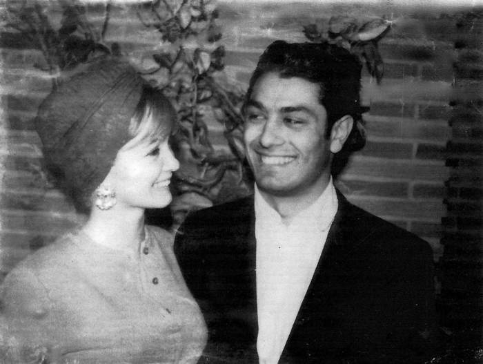 Joe Bardizbanian and his high school girlfriend, Jackie, who he later married
