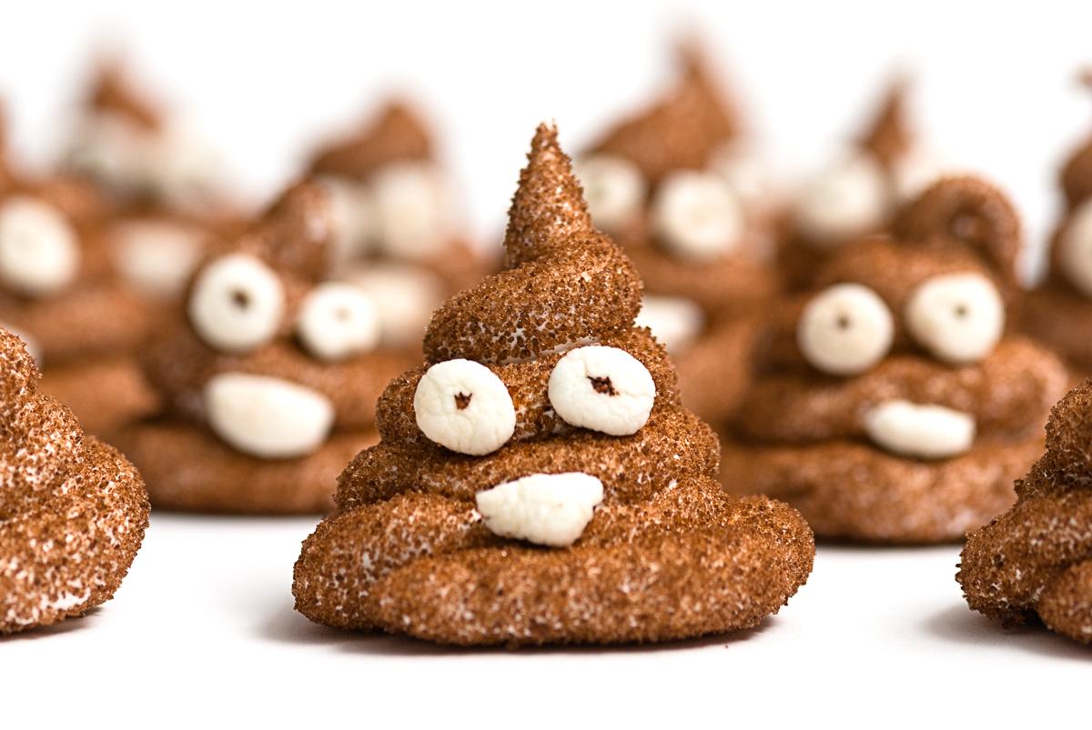 Bake: poop emoji