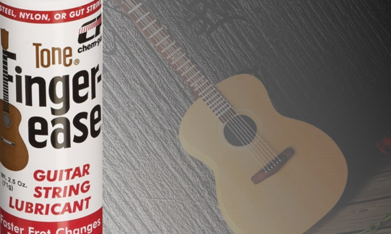Tone Finger Ease - How to clean guitar strings