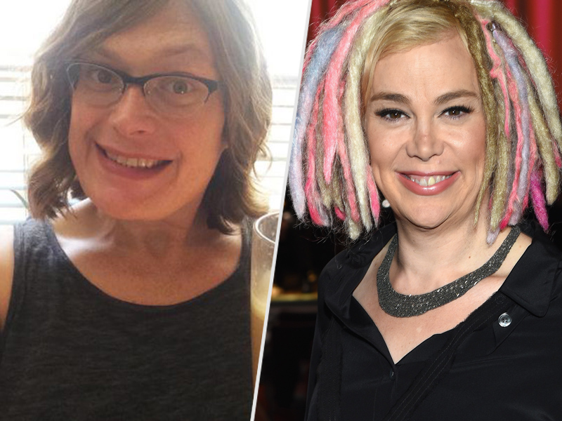 Lilly (left) and Lana Wachowski. [people.com]