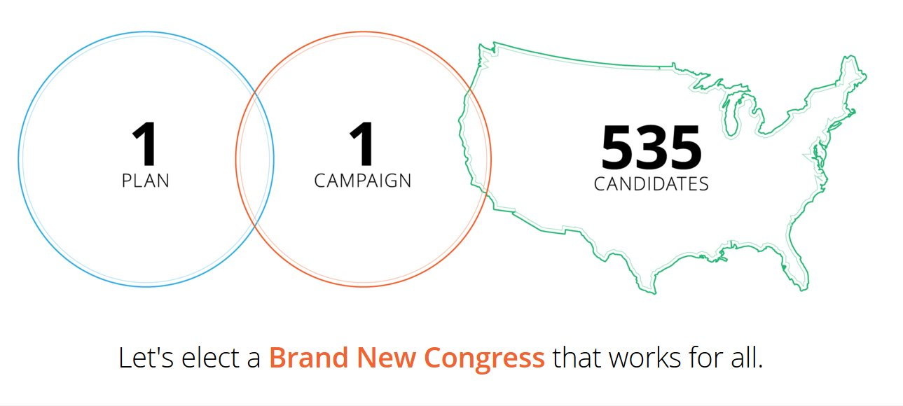 Brand New Congress: 535 progressive candidates, 1 ticket