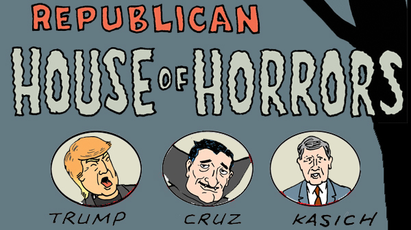 Tom the Dancing Bug 1283 republican house of horrors