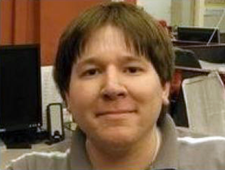 Matthew Keys, former deputy social media editor for Reuters.com, is seen in his online profile in this undated photo.