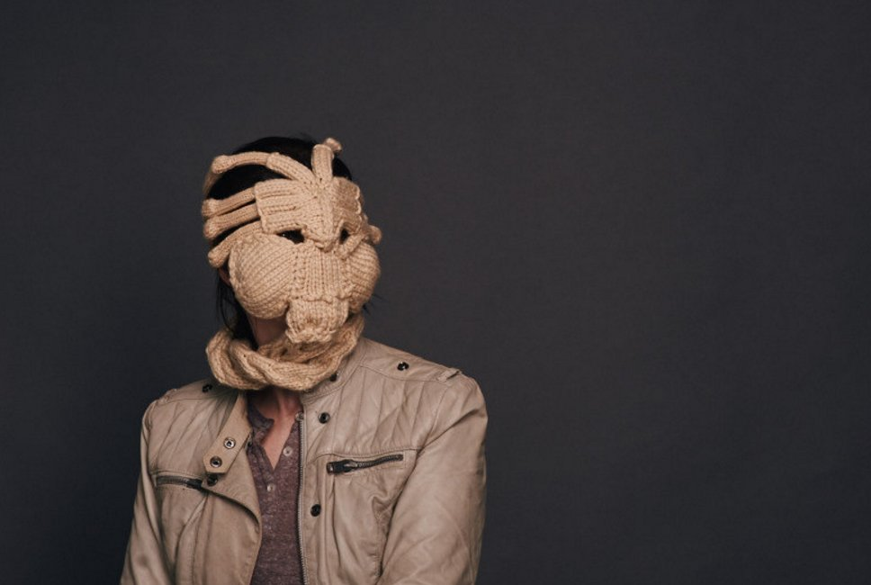 Knit Facehugger Masks Boing Boing