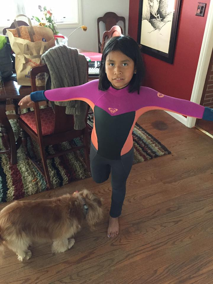 Buy your kid a used wetsuit, save some money