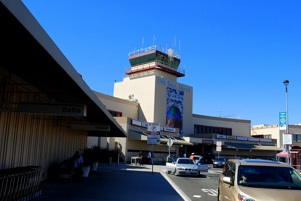"Burbank airport changes name, ditches ""Bob Hope"""