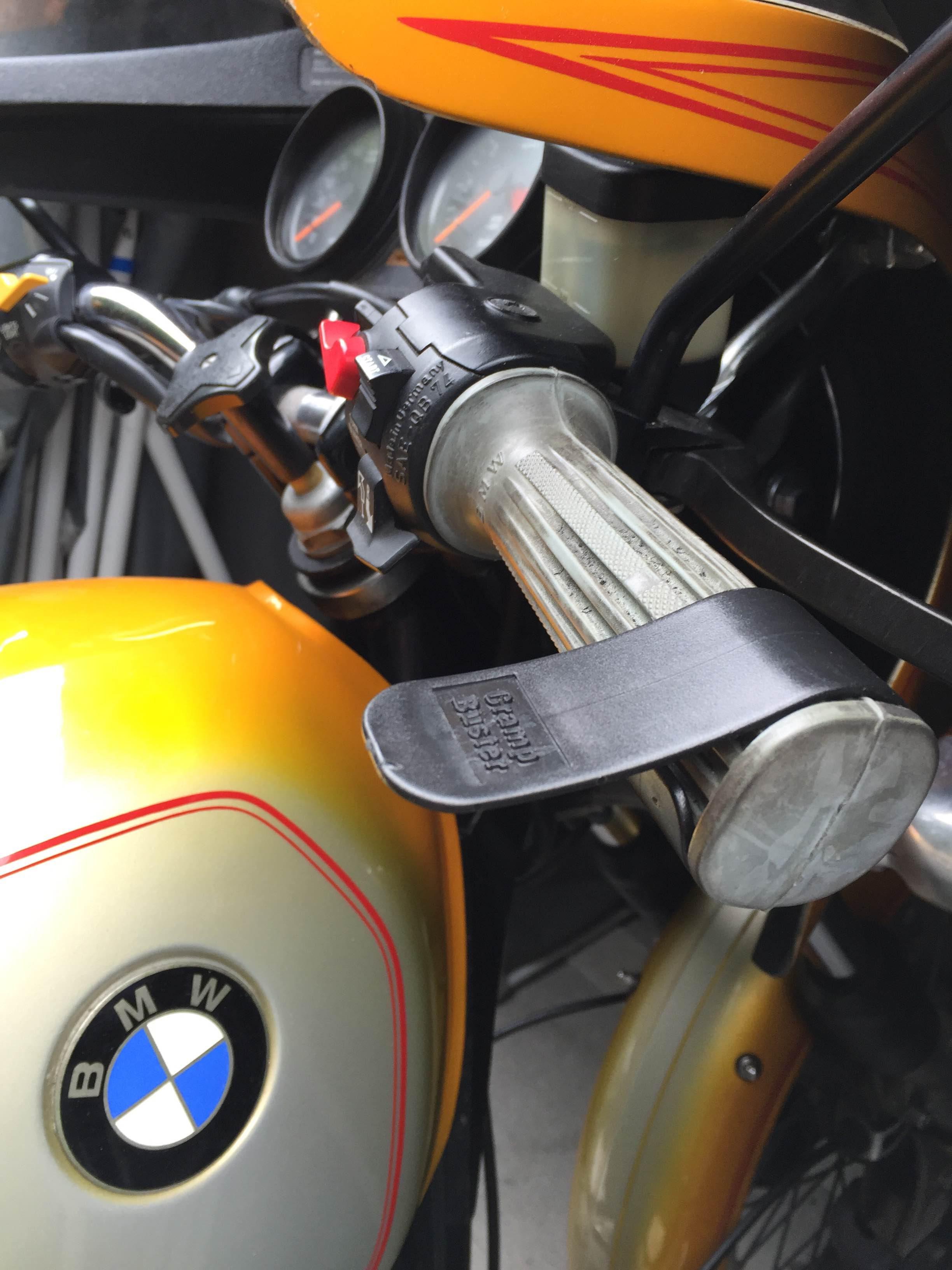 A cheap, simple fix for an achy throttle hand