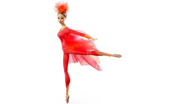 "Misty Copeland Barbie Doll features ""ballerina body"""
