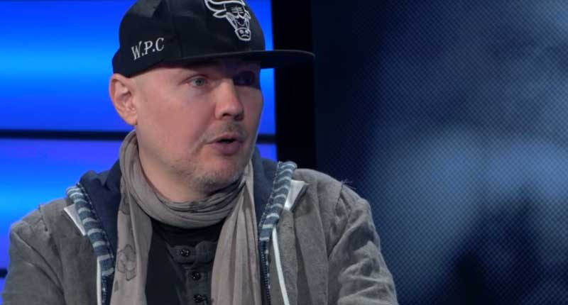 """Billy Corgan upset that """"the wrong racial epithet"""" could destroy his career"""