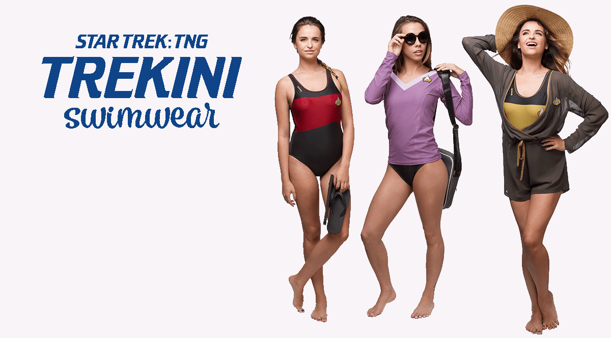 b5a7d32454b4e Star Trek  The Next Generation beachwear