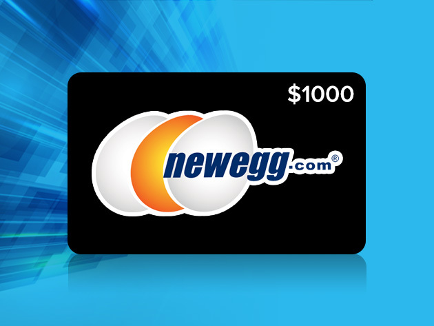 The Newegg $1,000 Gift Card Giveaway / Boing Boing