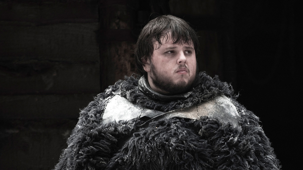 Samwell Tarly at The Wall