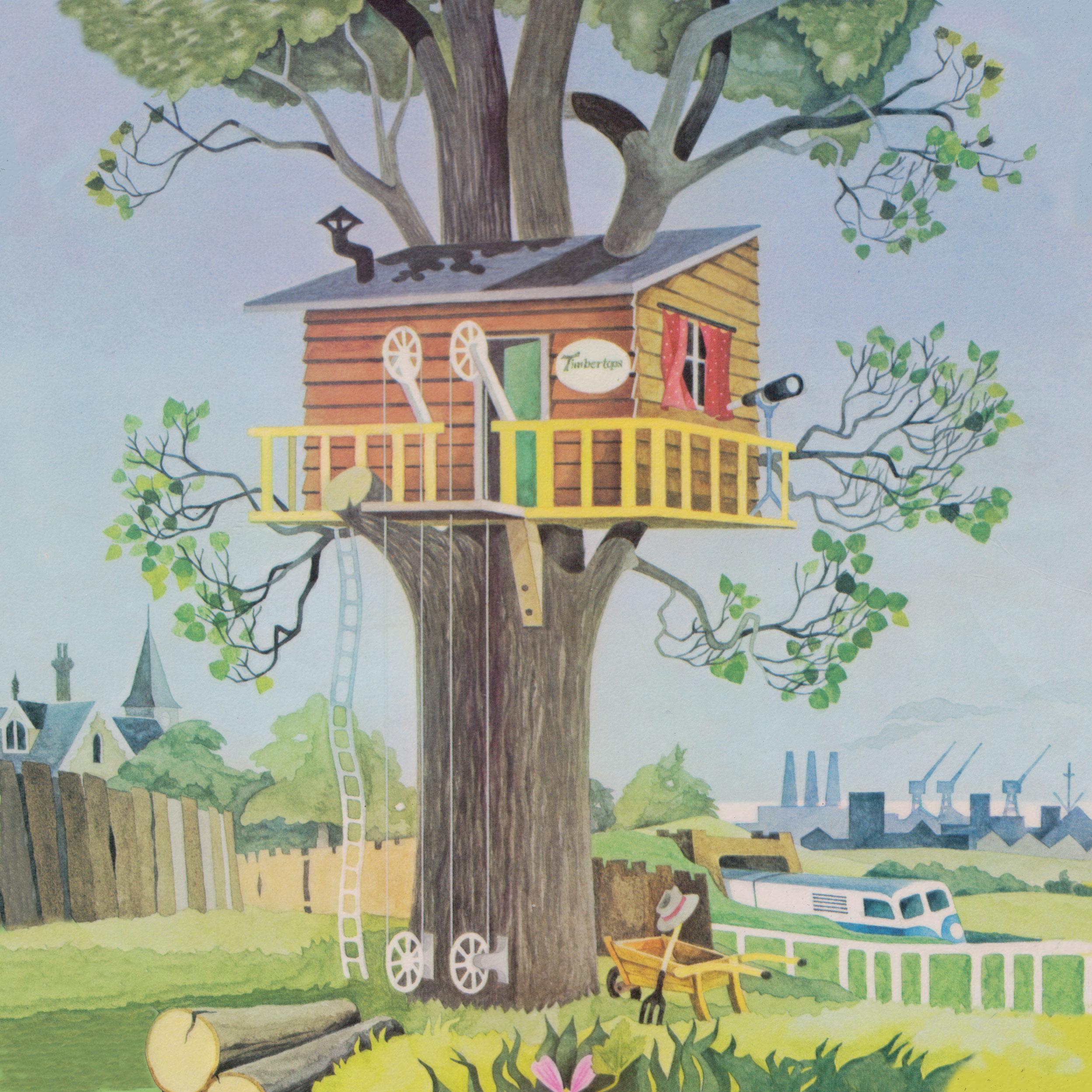 LISTEN: Timbertops, a rare children's album from 1974