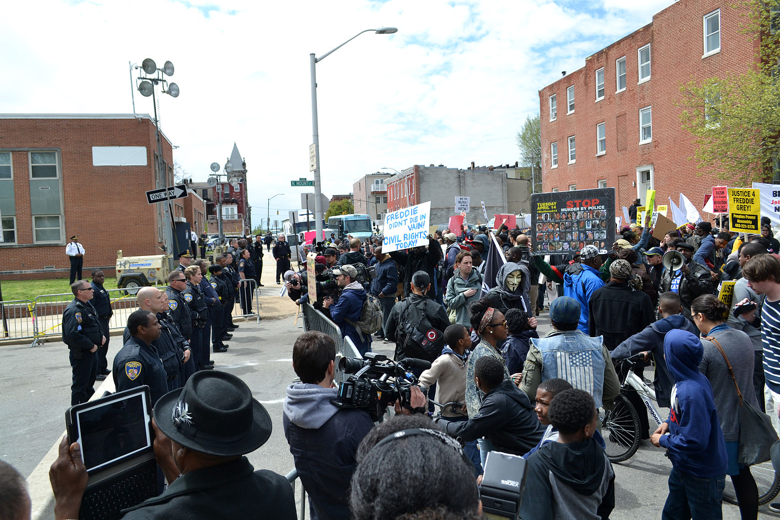 After Freddie Grey, Baltimore police take a tentative step away from lethal force