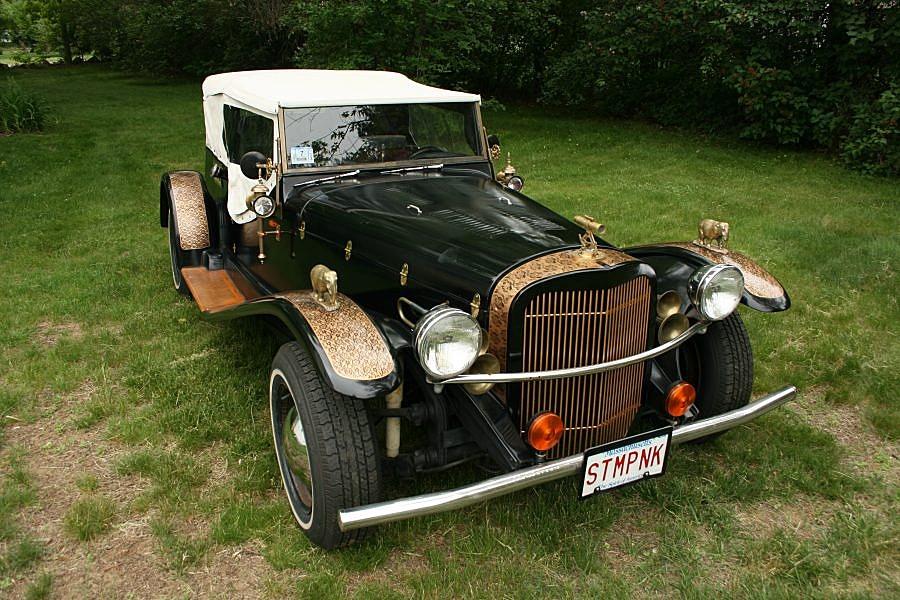 The Steampunk Roadster: Jake von Slatt\'s final steampunk project ...