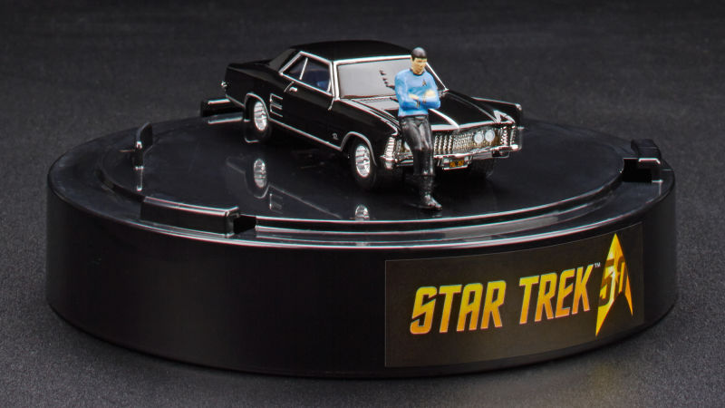 Hot Wheels Is Making A Spock Leaning On A 64 Buick Car For Comic Con