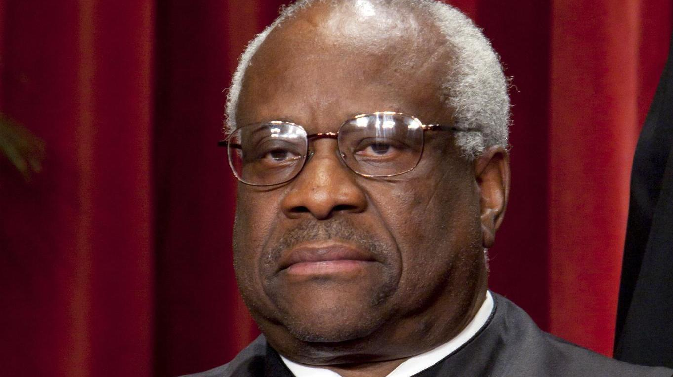 Supreme Court Justice Clarence Thomas. [Wikimedia Commons]