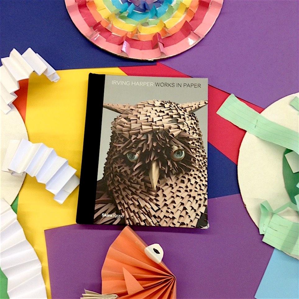 Irving Harper The genius furniture designer created stunning paper sculptures for fun