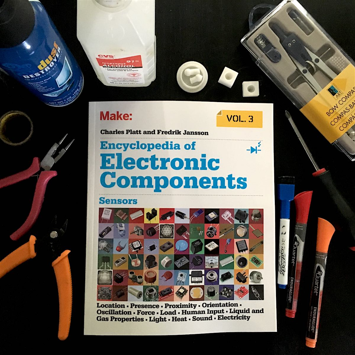 Sensors The Final Volume In An Impressive Series Of Electronics Electronic Components As Light Sensor Guides For 21st Century Makers