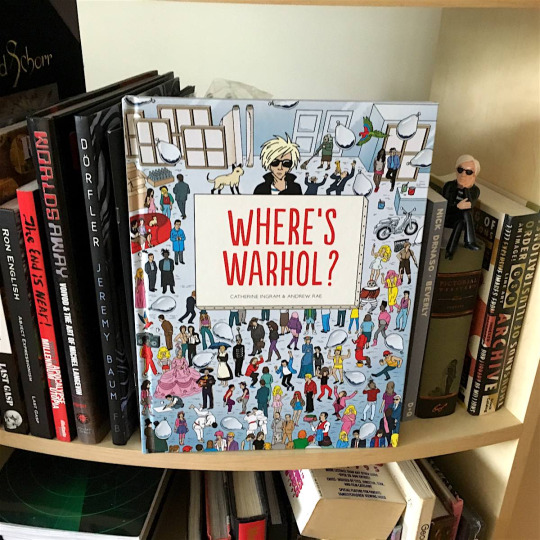 Where's Warhol A visual needle-in-a-haystack picture book inspired by the Where's Waldo series