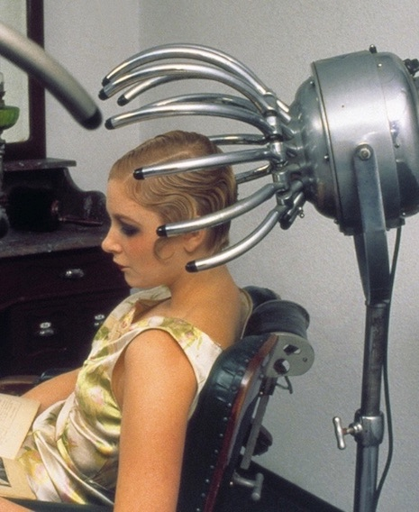 Sit Under Hair Dryer ~ These bizarre vintage hair dryers will blow your mind and