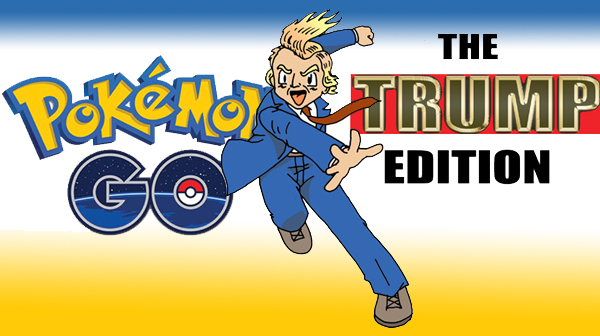 Tom the Dancing Bug 1297 pokemon go trump edition