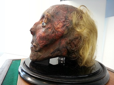 TSA approves having a mummified head as your carry-on luggage, with reservations
