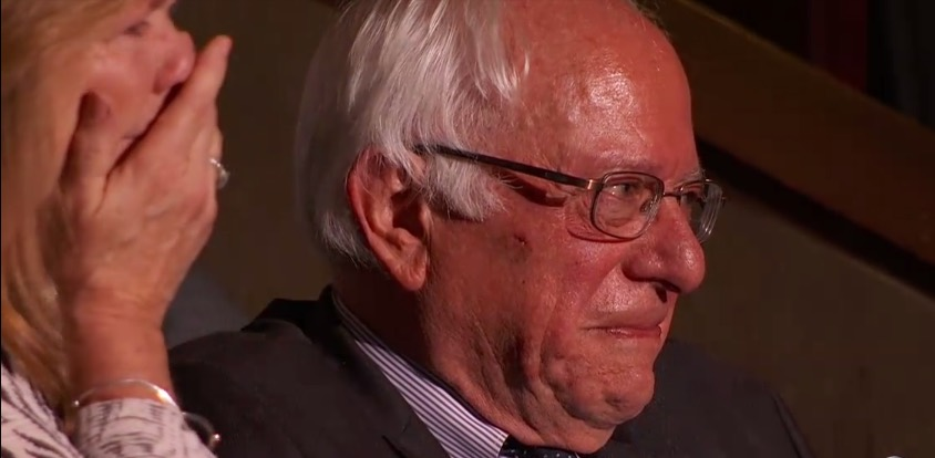 Bernie Sanders overcome with emotion as his brother Larry casts delegate vote at DNC