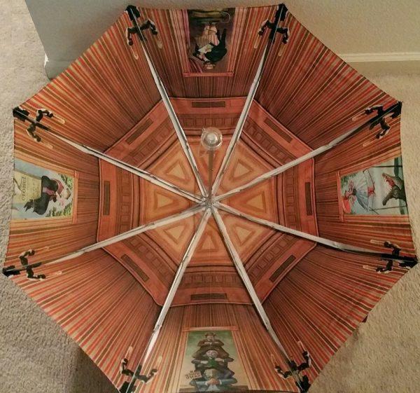 Haunted Mansion Umbrella Inside