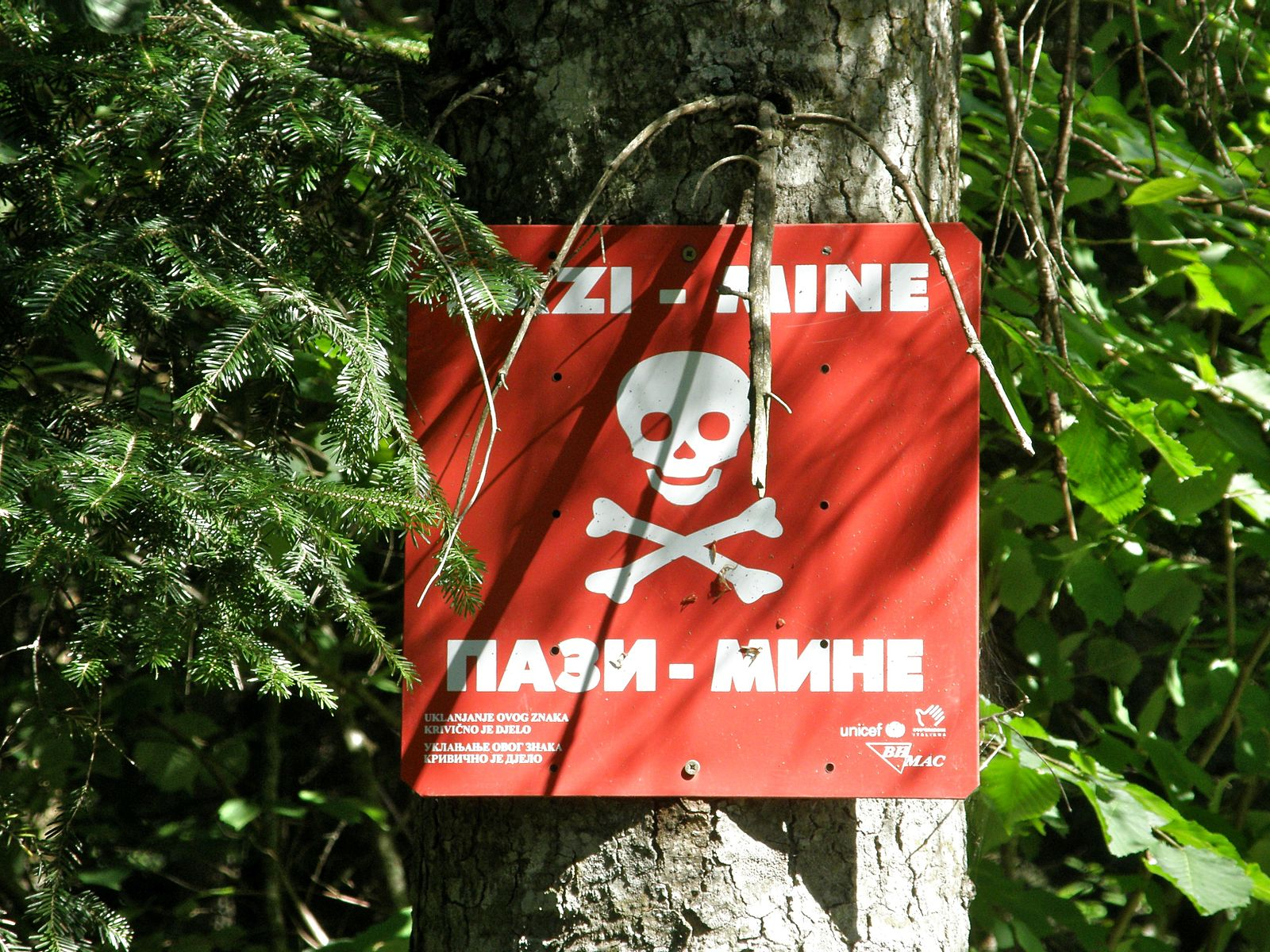 Landmine_warning_sign_in_BiH