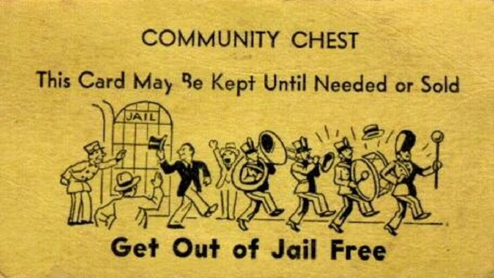 White house plan to use data to shrink prison populations for Get out of jail free card template