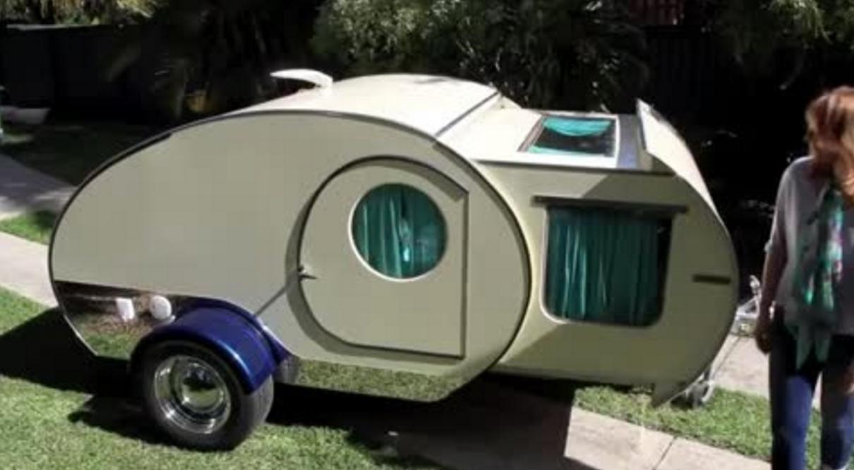 Nifty Mini Camping Trailer Boing Boing