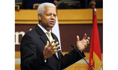 "Congressman Hank Johnson says calling Jewish settlers ""termites"" was a ""poor choice of..."