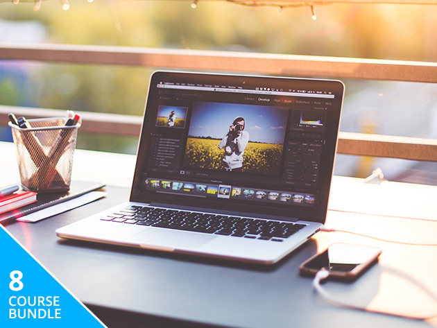 Create pro-quality photos with the Ultimate Adobe Photo Editing Bundle - just $29.99