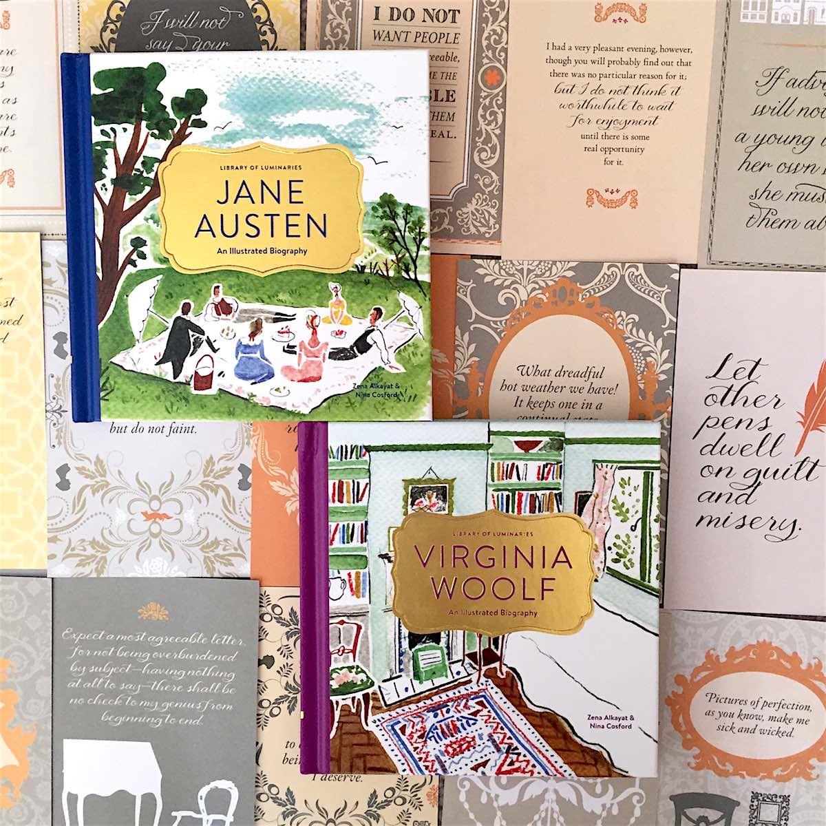 Bitesize Bio Series Launches With Jane Austen And Virginia Woolf