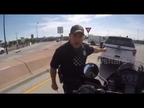 """Upset at being honked at, Cop declares horn use """"road rage"""""""